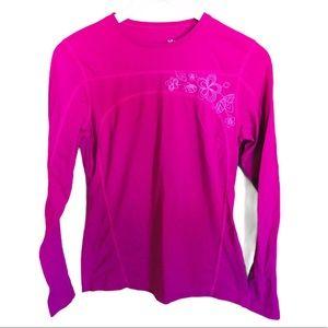 TUFF ATHLETICS Active Long Sleeve Tee Pink Size M